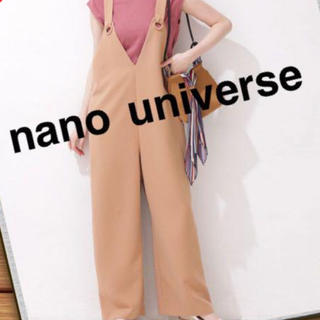 ナノユニバース(nano・universe)のnano・universe サロペット(サロペット/オーバーオール)