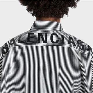バレンシアガ(Balenciaga)のバレンシアガ バックロゴシャツ SS19(シャツ)