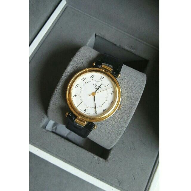 Christian Dior - クリスチャンディオール腕時計 クォーツの通販 by ペペロン|クリスチャンディオールならラクマ