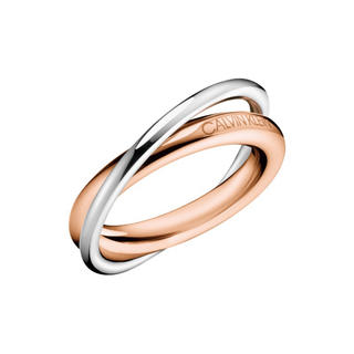 カルバンクライン(Calvin Klein)のCalvin Kleinカルバンクライン♡ダブルリング♡指輪11号(リング(指輪))