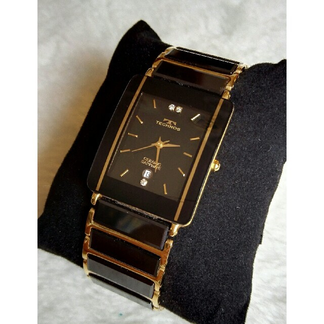 TECHNOS - テクノス腕時計 セラミッククォーツ の通販 by ペペロン|テクノスならラクマ