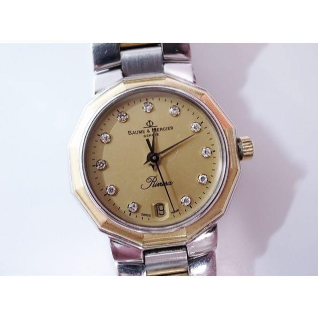 BAUME&MERCIER クォーツ レディース腕時計 動作未確認の通販 by ICL's shop|ラクマ