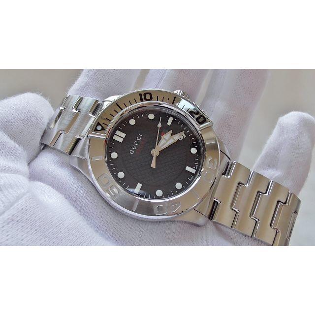 Gucci - GUCCI グッチ 126.2 ダイバー男性用 クオーツ腕時計  B2264の通販 by hana|グッチならラクマ