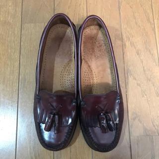 ジーエイチバス(G.H.BASS)のG.H.BASS ジーエイチバス ワシントン タッセルローファー 24センチ位(ローファー/革靴)