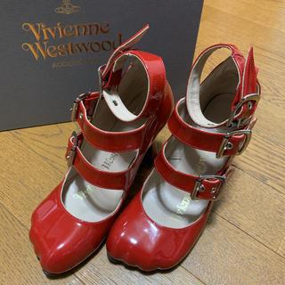 ヴィヴィアンウエストウッド(Vivienne Westwood)のVivienne Westwood アニマルトゥ サンダル(ハイヒール/パンプス)