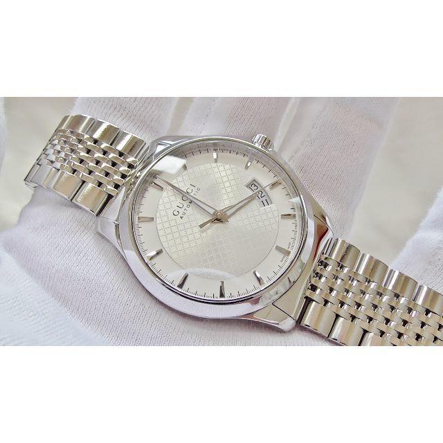 Gucci - GUCCI グッチ126.4 男性用 機械式自動巻き腕時計 B2208の通販 by hana|グッチならラクマ