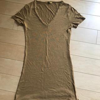 スライ(SLY)のスライ ロングT キャメル(Tシャツ(半袖/袖なし))