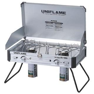 ユニフレーム(UNIFLAME)のユニフレーム ツインバーナー US-1900(調理器具)