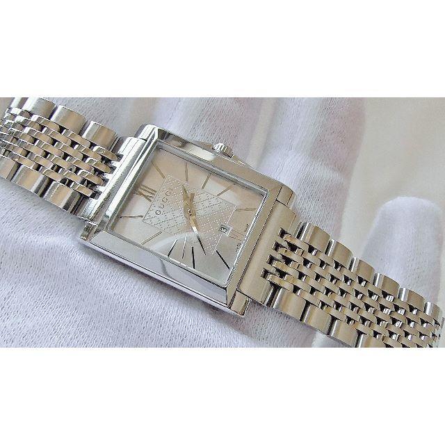 Gucci - GUCCI グッチ 138.5   クオーツ腕時計 電池新品 B2225メの通販 by hana|グッチならラクマ