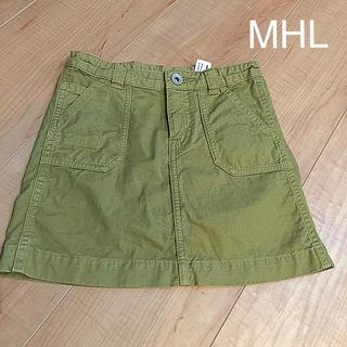 マーガレットハウエル(MARGARET HOWELL)の【110cm】MHL マーガレットハウエル スカート カーキ(スカート)
