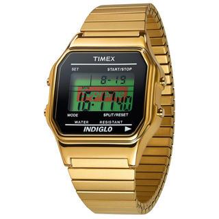シュプリーム(Supreme)のsupreme Timex Digital Watch gold(腕時計(デジタル))