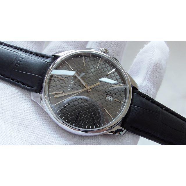 Gucci - GUCCI グッチ 126.3 男性用 クオーツ腕時計  B2256メの通販 by hana|グッチならラクマ