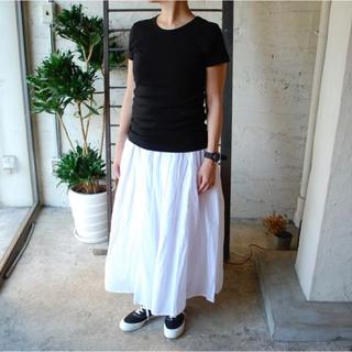 ソイル(SOIL)の【mimosa様専用】SOIL  #  ギャザースカート(ロングスカート)