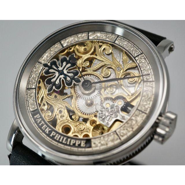 PATEK PHILIPPE - パテックフィリップ/PATEK PHILIPPE フルスケルトン 手巻き 腕時計の通販 by ひややっこ's shop|パテックフィリップならラクマ
