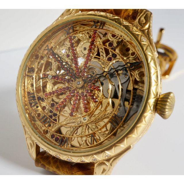 ROLEX - 希少 ロレックス/ROLEX フルスケルトン 手巻き式 腕時計★アンティークの通販 by ひややっこ's shop|ロレックスならラクマ