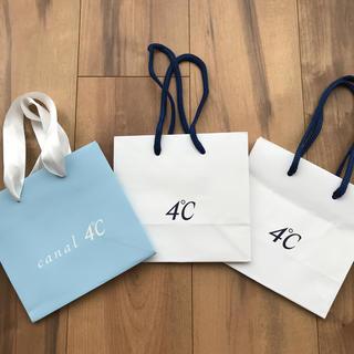 ヨンドシー(4℃)の《4℃ 》&《canal 4℃》のショップ袋(ショップ袋)