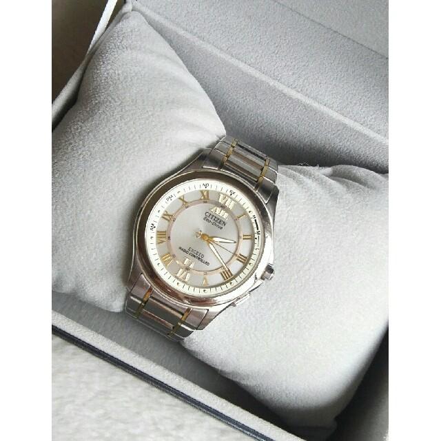 CITIZEN - シチズン腕時計 エクシードメンズ電波ソーラーの通販 by ペペロン|シチズンならラクマ