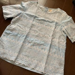 ギャップ(GAP)のGAP  刺繍 トップス(シャツ/ブラウス(半袖/袖なし))
