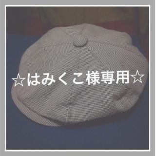 バーバリー(BURBERRY)のBURBERRY ハンチング帽(ハンチング/ベレー帽)