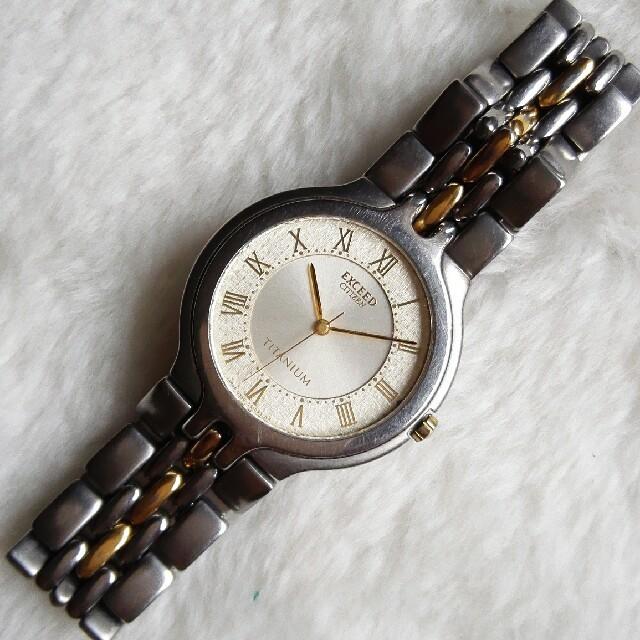 CITIZEN - シチズン腕時計 エクシード メンズクォーツの通販 by ペペロン|シチズンならラクマ