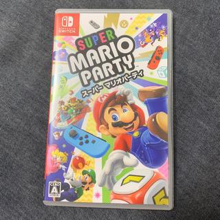 ニンテンドースイッチ(Nintendo Switch)のスーパー マリオパーティ 当日発送(家庭用ゲームソフト)