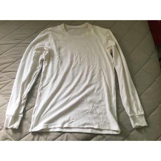 ユニクロ(UNIQLO)のユニクロ UNIQLO 超極暖 ウルトラウォーム ヒートテック ホワイト 白(Tシャツ/カットソー(七分/長袖))