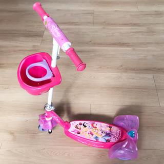ディズニー(Disney)のたためる ディズニー プリンセス キックスクーター キックボード(三輪車/乗り物)