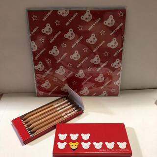 ミキハウス(mikihouse)のミキハウス 色鉛筆、折り紙セット  新品、未使用(知育玩具)