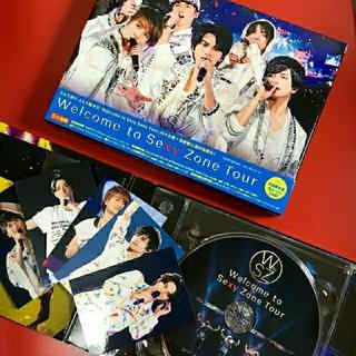セクシー ゾーン(Sexy Zone)の★ポスター付★Welcome to Sexy Zone Tour Blu-ray(アイドル)