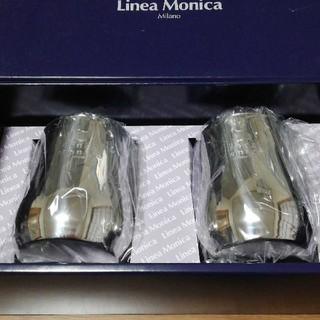 【新品未使用】リネア・モニカ ペアビール 水割りカップセット(グラス/カップ)