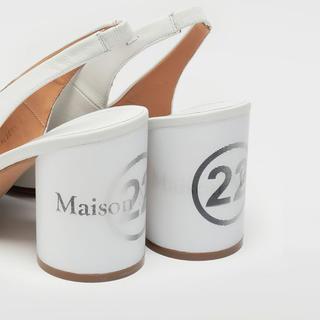 マルタンマルジェラ(Maison Martin Margiela)のMaison Margiela Tabi Hologram slingback(ハイヒール/パンプス)