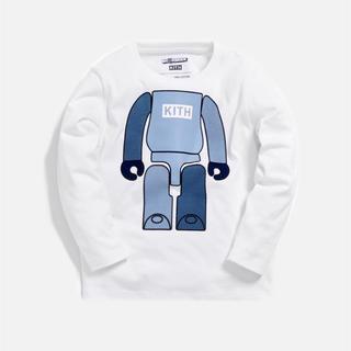 完売品 KITH KIDS X BE@RBRICK L/S TEE 140150(Tシャツ/カットソー)