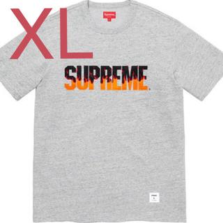 シュプリーム(Supreme)の19aw Supreme Flame S/S Tee シュプリーム fw(Tシャツ/カットソー(半袖/袖なし))