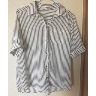 シマムラ(しまむら)の♡ストライプシャツ♡(カットソー(半袖/袖なし))