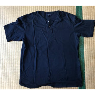 シップス(SHIPS)の日本製SHIPS  Tシャツ 紺色  無地。 Tシャツ(Tシャツ/カットソー(半袖/袖なし))