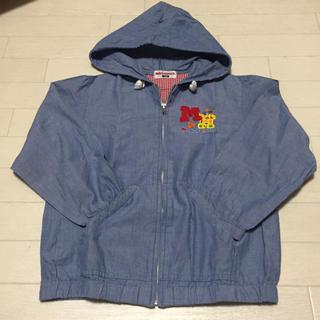 ミキハウス(mikihouse)のミキハウス 120cm パーカー フード付きジャケット 日本製(ジャケット/上着)