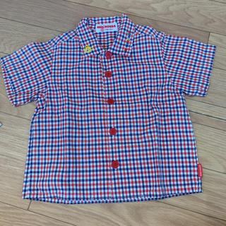 ミキハウス(mikihouse)のミキハウス 半袖シャツ ♡80(シャツ/カットソー)