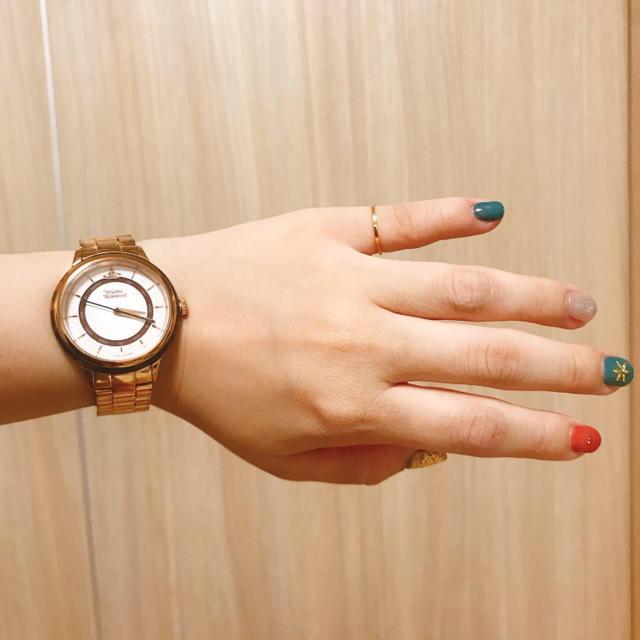 Vivienne Westwood - 【値下げ】腕時計 ピンクゴールド×べっ甲の通販 by ぴっぴshop|ヴィヴィアンウエストウッドならラクマ