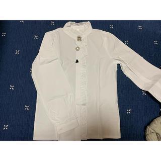チェスティ(Chesty)のPLAYROOM 新品未使用 ビジューシャツ(シャツ/ブラウス(長袖/七分))