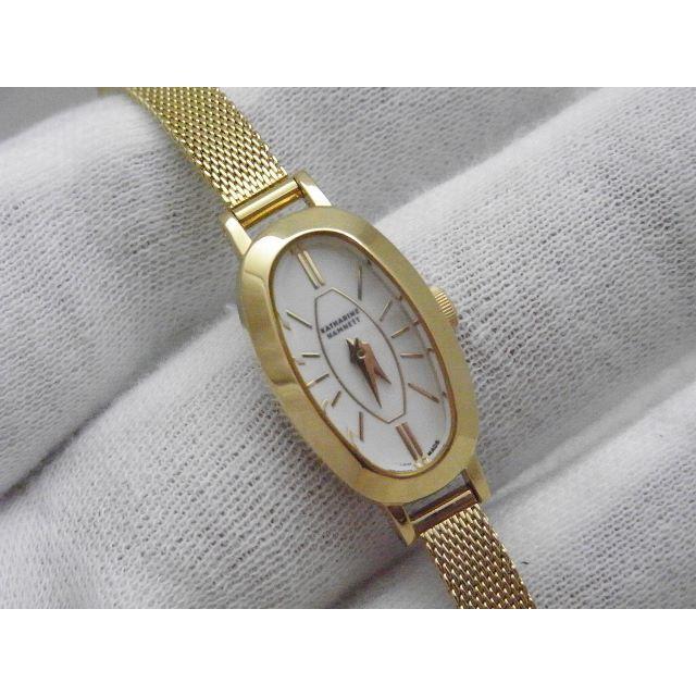 KATHARINE HAMNETT - KATHARINE HAMNETT 腕時計 ゴールド の通販 by Arouse 's shop|キャサリンハムネットならラクマ