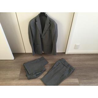 ユニクロ(UNIQLO)のユニクロ セットアップ 感動パンツ ジャケット パンツ二本 s(セットアップ)