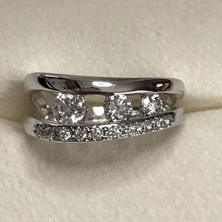 タサキ(TASAKI)のトマト様専用です❣️18kWG ダイヤモンド リング 合計0.7ct (リング(指輪))