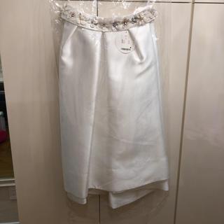 チェスティ(Chesty)のタグ付き!お花ベルトが可愛いフィッシュテールスカート(ロングスカート)