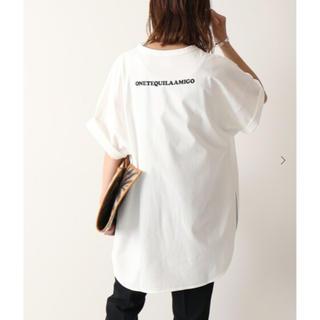 フレームワーク(FRAMeWORK)のVOTE ONE TEQUILA AMIGO ロングTシャツ(Tシャツ(半袖/袖なし))