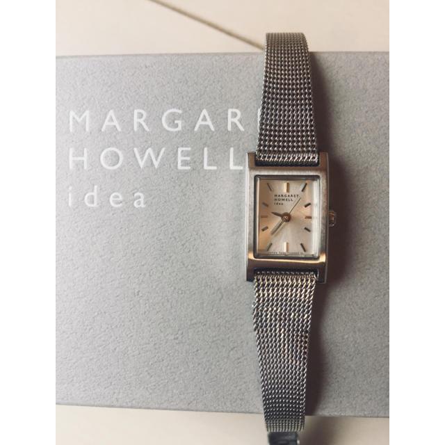 MARGARET HOWELL - 現行品 MARGARETHOWELL idea シルバースクエア 腕時計¨̮♡︎の通販 by かもめ食堂|マーガレットハウエルならラクマ