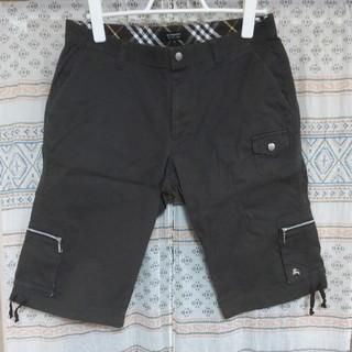 バーバリーブラックレーベル(BURBERRY BLACK LABEL)のバーバリーブラックレーベル ハーフパンツ メンズ 76(ショートパンツ)