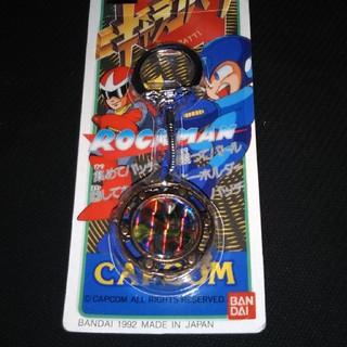 カプコン(CAPCOM)のロックマン キャラコバッチ(アニメ/ゲーム)