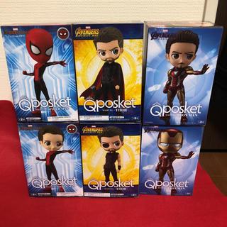 バンプレスト(BANPRESTO)のQposket スパイダーマン マイティーソー アイアンマン 6点セット(アメコミ)