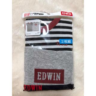 エドウィン(EDWIN)のエドウィン 肌着 半袖丸首シャツ フライス 2枚組 90サイズ(下着)