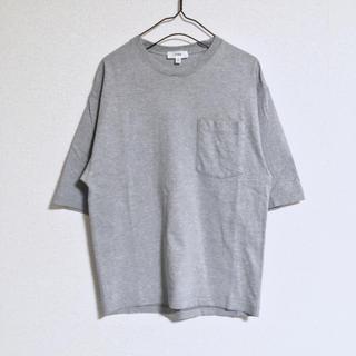 ハイク(HYKE)のHYKE 半袖カットソー Tシャツ グレー 灰色 ハイク(Tシャツ(半袖/袖なし))